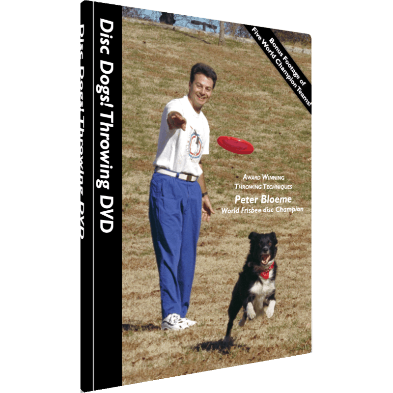 Disc Dogs! Throwing DVD (Cover)