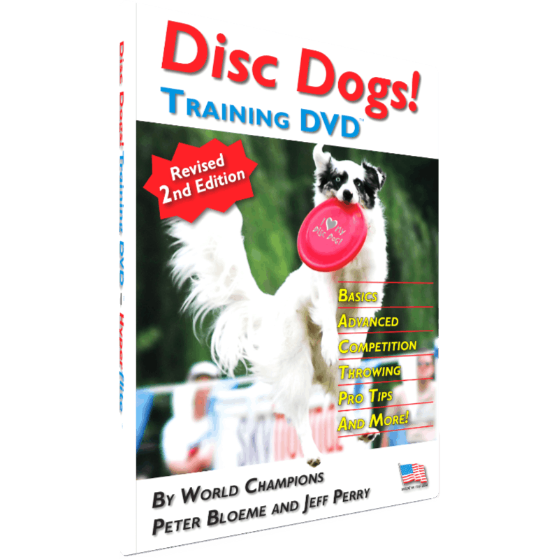 Disc Dogs! Training DVD (Cover)