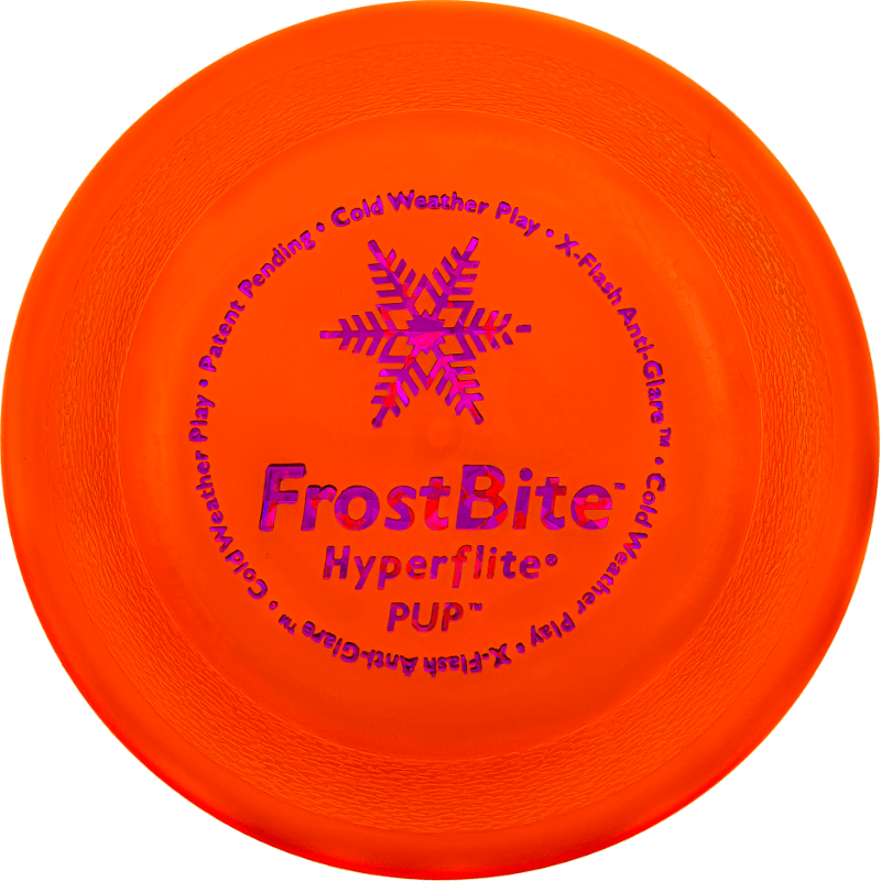 FrostBite Pup Disc (Top View)